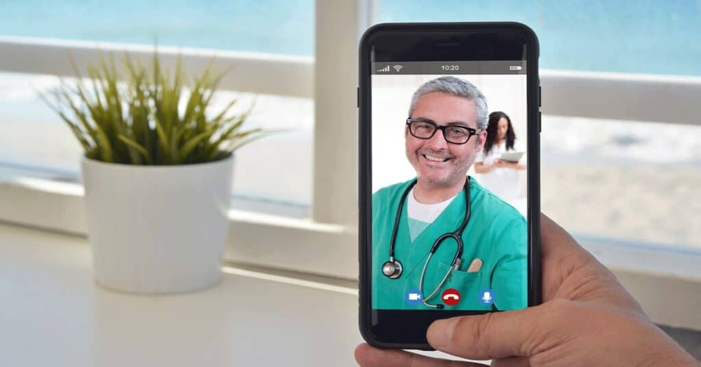 Video Chat feature image for Adosphere - Workplace from Facebook partner blog