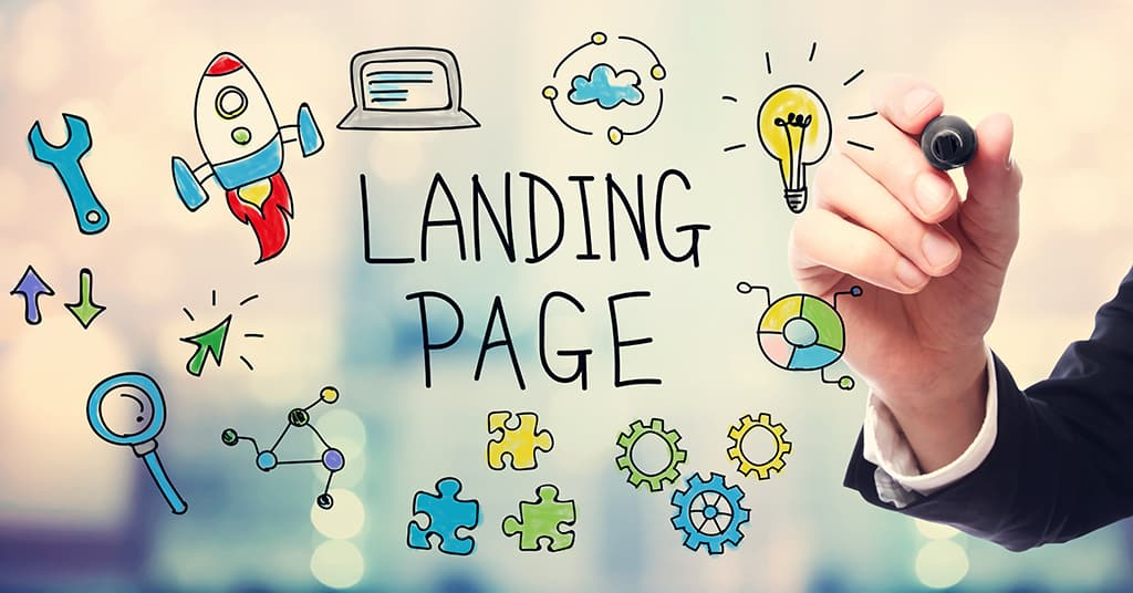 Features image of tips to create better landing page blog
